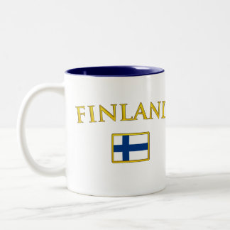 Golden Finland Two-Tone Coffee Mug