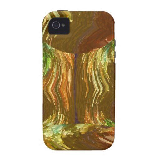 GOLDEN FIRE FLAMES: Decoration Healing Energy GIFT iPhone 4 Cover