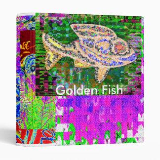 GOLDEN FISH VINYL BINDER