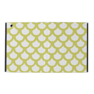 Golden Fish Scale 1 iPad Cover