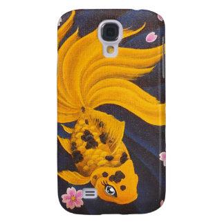 Golden Fishie I-Pod3 Galaxy S4 Cover