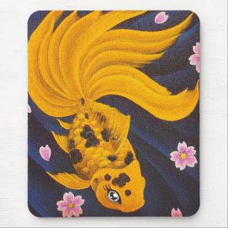 Golden Fishie Mouse Pad