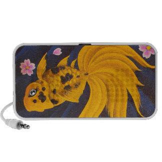 Golden Fishie Speakers
