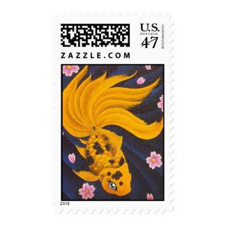 Golden Fishie Stamp