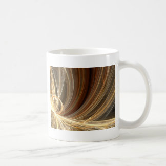 Golden Flair Bright Blast Starburst Design Coffee Mug
