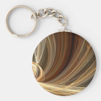 Golden Flair Bright Blast Starburst Design Keychains