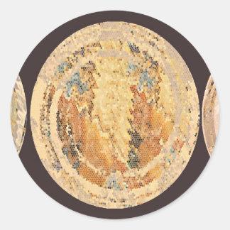 Golden Flame Coins 2010 Sticker