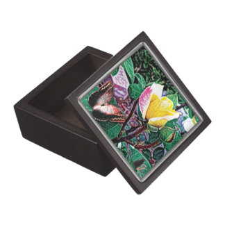 Golden Flame Jewelry Box