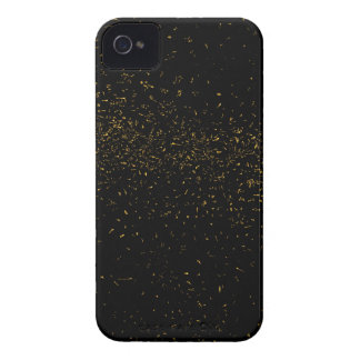 Golden Fleck Backgound iPhone 4 Cover