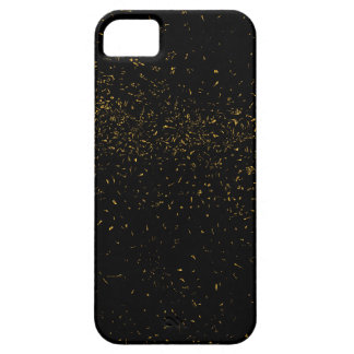 Golden Fleck Backgound iPhone SE/5/5s Case