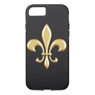 Golden Fleur De Lis iPhone 7 Case