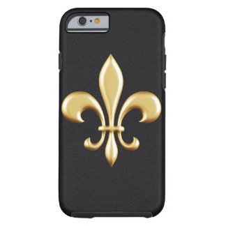 Golden Fleur De Lis Tough iPhone 6 Case