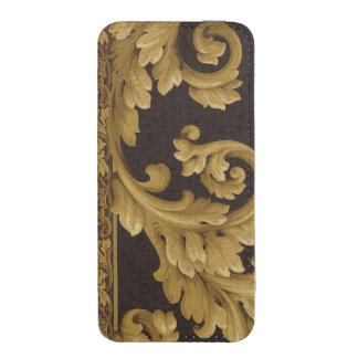 GOLDEN FLORAL VINTAGE iPhone 5 POUCH