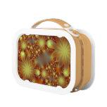 Golden flower lights lunch box