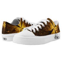 Golden Flower Low-Top Sneakers