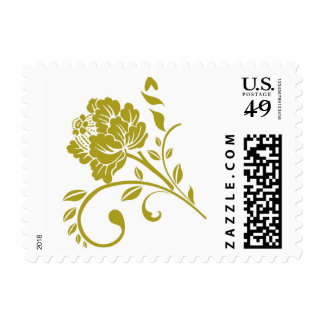 Golden Flower Postage