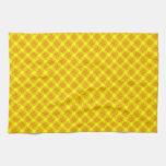 Golden Flowers Towels