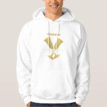 Golden Flutes Groom Gift Hoodie