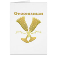 Golden Flutes Groomsman Gift