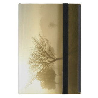 Golden Foggy Tree iPad Mini Case