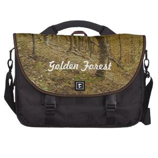Golden Forest. #1 Laptop Commuter Bag