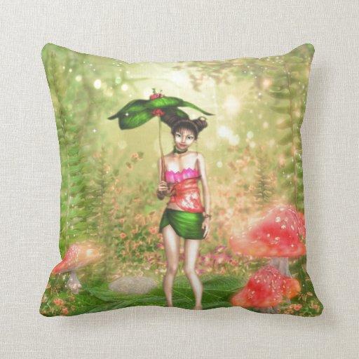 Golden Forest Elf Pillows