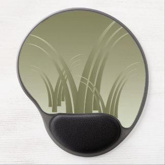 Golden forest gel mouse pad