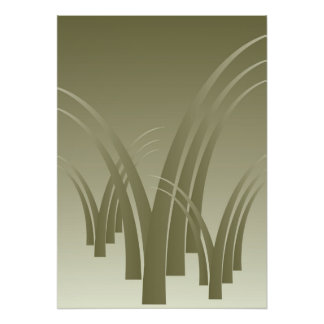 Golden forest poster