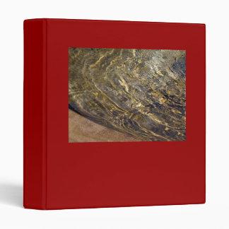 Golden Fountain Water 2 3 Ring Binder