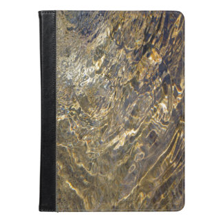 Golden Fountain Water 2 Abstract Photo iPad Air Case