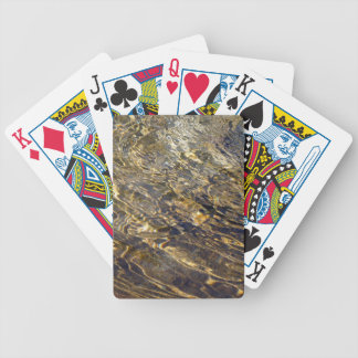Golden Fountain Water 2 Bicycle Playing Cards