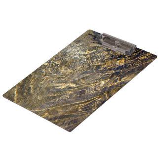 Golden Fountain Water 2 Clipboard