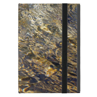 Golden Fountain Water 2 Cover For iPad Mini