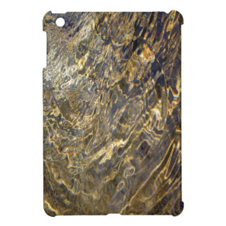 Golden Fountain Water 2 iPad Mini Cover