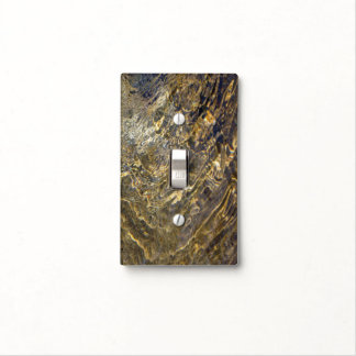 Golden Fountain Water 2 Light Switch Cover
