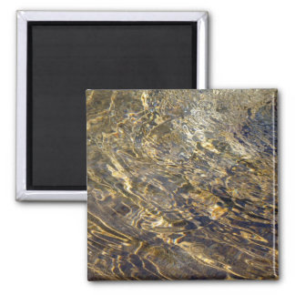 Golden Fountain Water 2 2 Inch Square Magnet