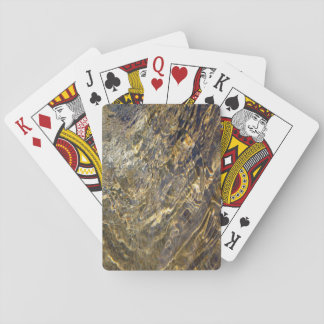 Golden Fountain Water 2 Playing Cards
