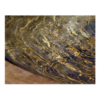 Golden Fountain Water 2 Postcard