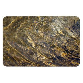 Golden Fountain Water 2 Rectangular Magnet