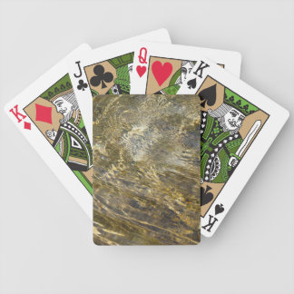 Golden Fountain Water Bicycle Playing Cards
