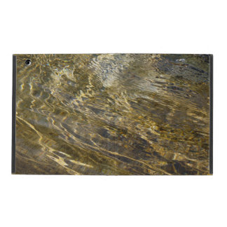 Golden Fountain Water iPad Cover