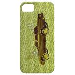 golden four door sedan iPhone 5 cover
