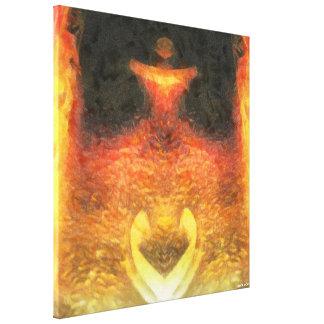 Golden Fox Canvas Print