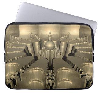 Golden Fractal Computer Sleeve