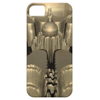 Golden Fractal iPhone SE/5/5s Case