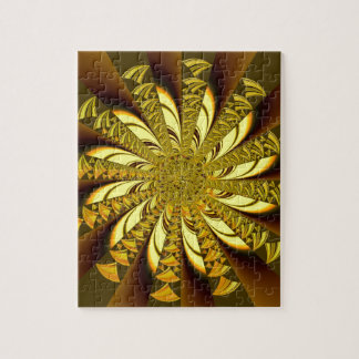 Golden Fractal multiple producds selected Jigsaw Puzzles