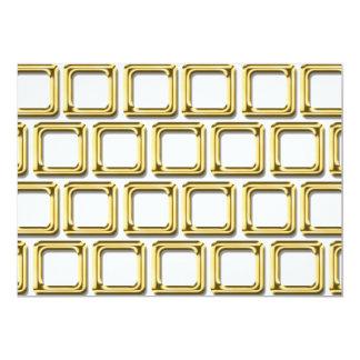 Golden frames pattern card