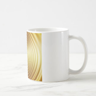 Golden Frequency Ripples Coffee Mug