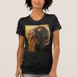 Golden Friesian Horse T Shirt