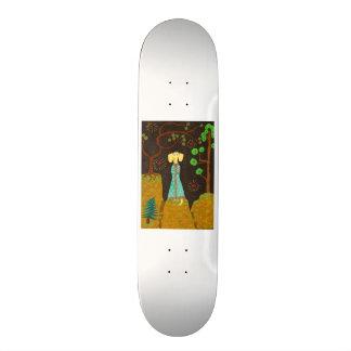 Golden Fur Skateboard Deck